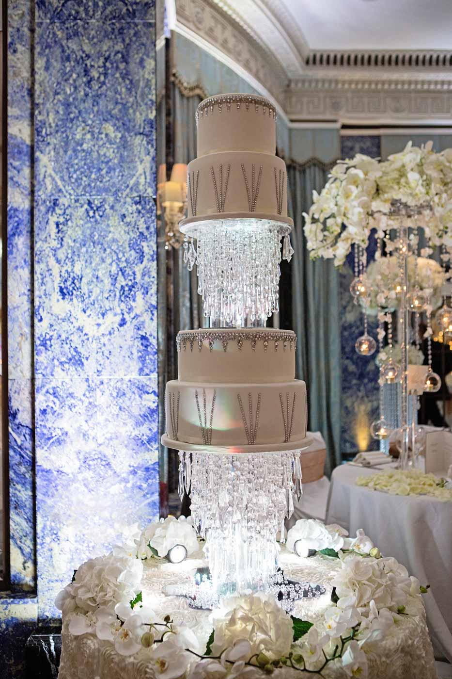 How To Make A Wedding Cake Canopy