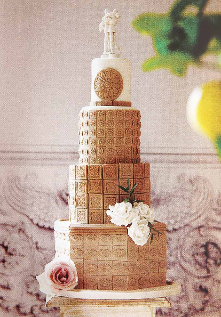 Cake Artistry Mauritius : Wedding Cakes Elizabeths Cake Emporium