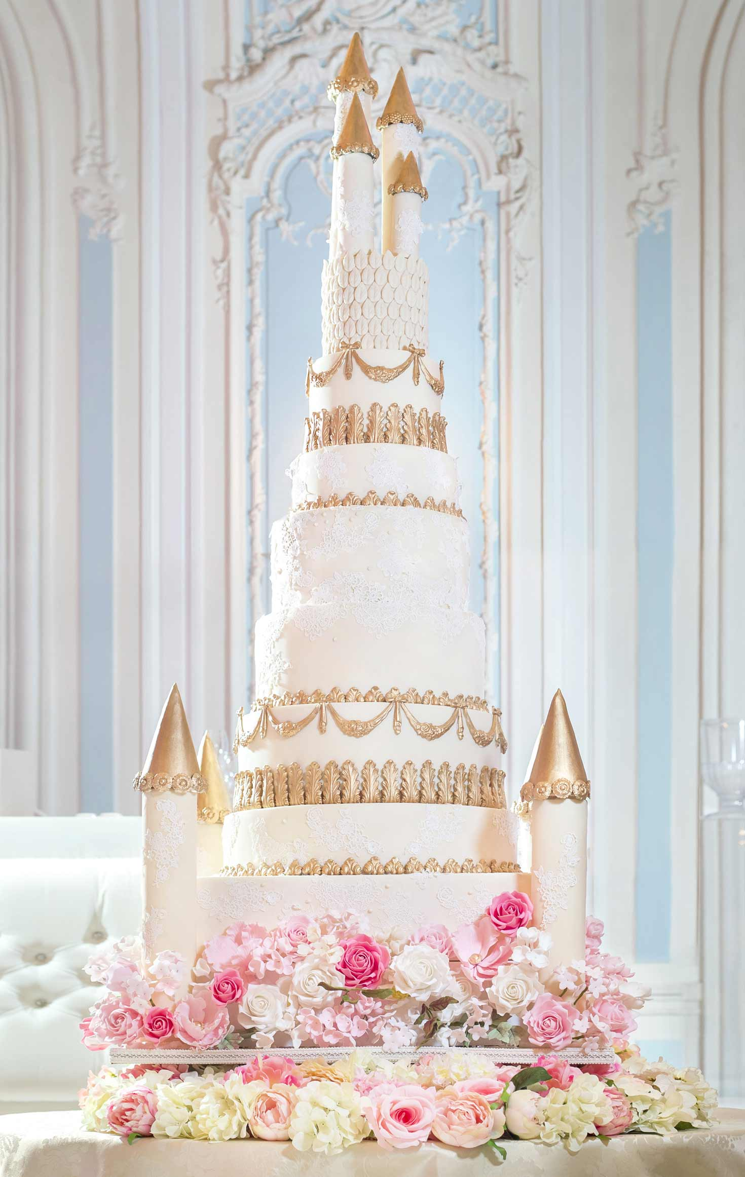 8 Foot Fairytale Castle Cake at the Savoy Elizabeth s Cake Emporium