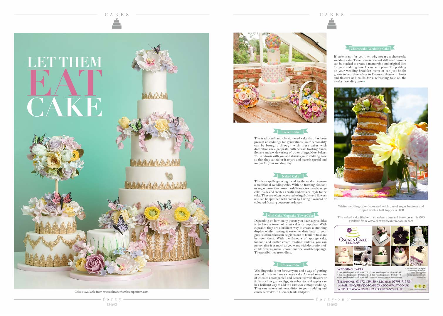 Print Press | Elizabeth\'s Cake Emporium