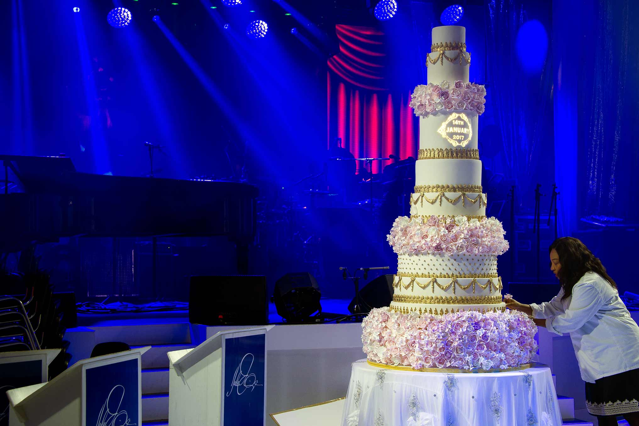 10 Tier Wedding Cake